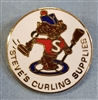 Steve's Curling Supplies Pin
