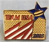 Team USA 2013 Curling Pin