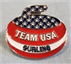 Team USA Stone Pin
