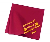 Honey Memorial Hike Commemorative Neckerchief