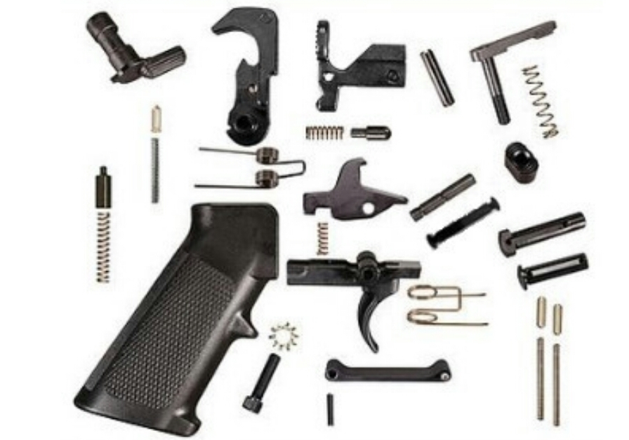 AR-10  308 UFS COMPLETE LOWER PARTS KIT WITH ANTI-WALK PIN