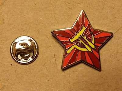 Riftersickle Lapel Pin