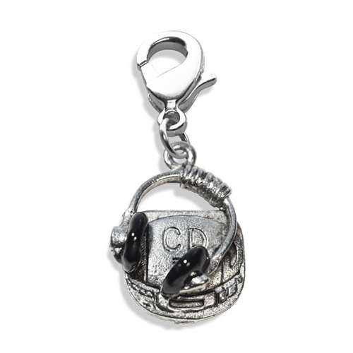 CD Player & Headphone Charm Dangle