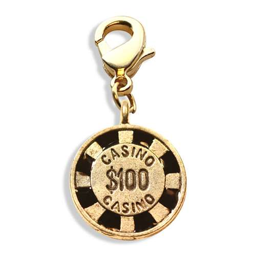 Casino Chip Charm Dangle