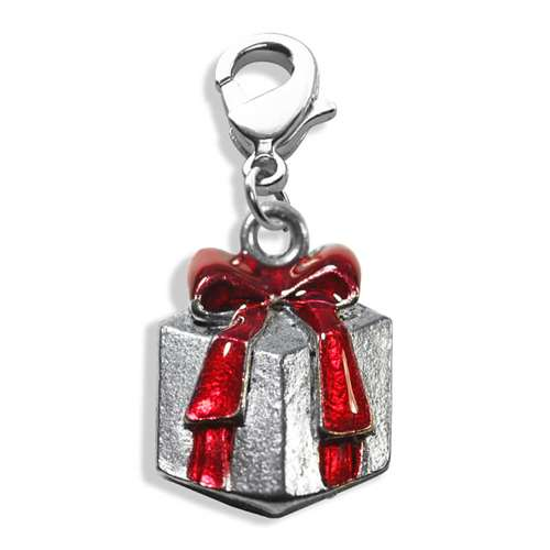 Christmas Present Charm Dangle