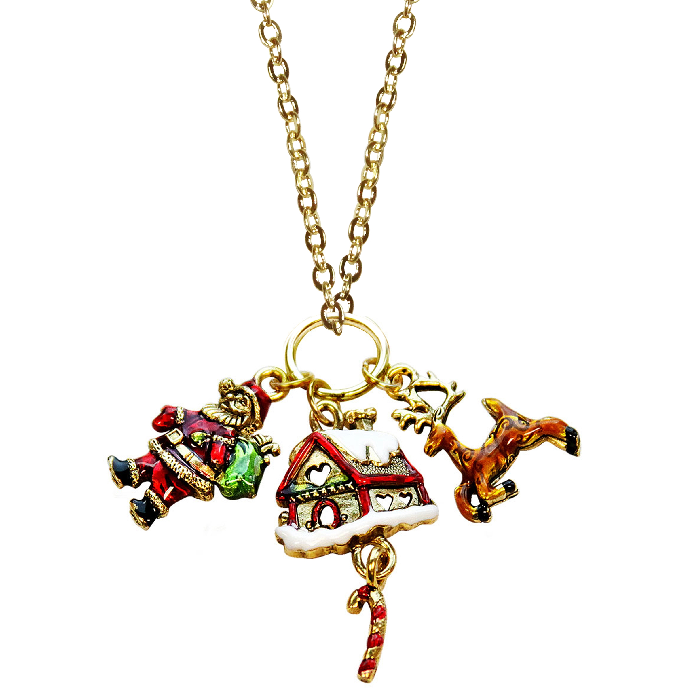 Cute Christmas Necklace