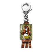 Artist Picture Charm Dangle