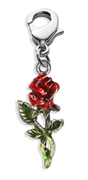 Rose Charm Dangle