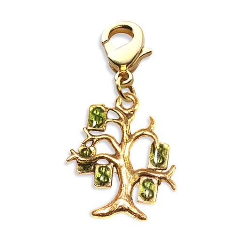 Money Tree Charm Dangle