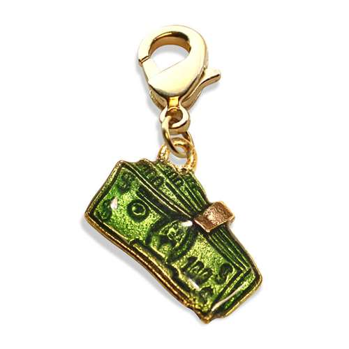 Money Clip with Money Charm Dangle