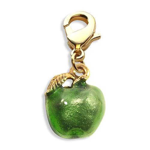 Green Apple Charm Dangle