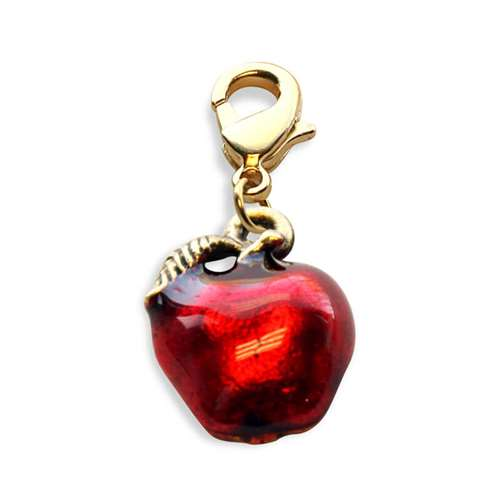Red Apple Charm Dangle