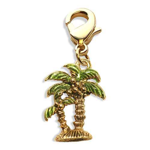 Palm Trees Charm Dangle