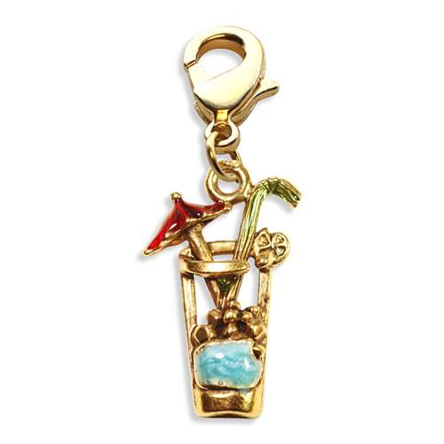 Cocktail Drink Charm Dangle