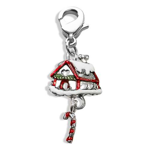 Gingerbread House Charm Dangle