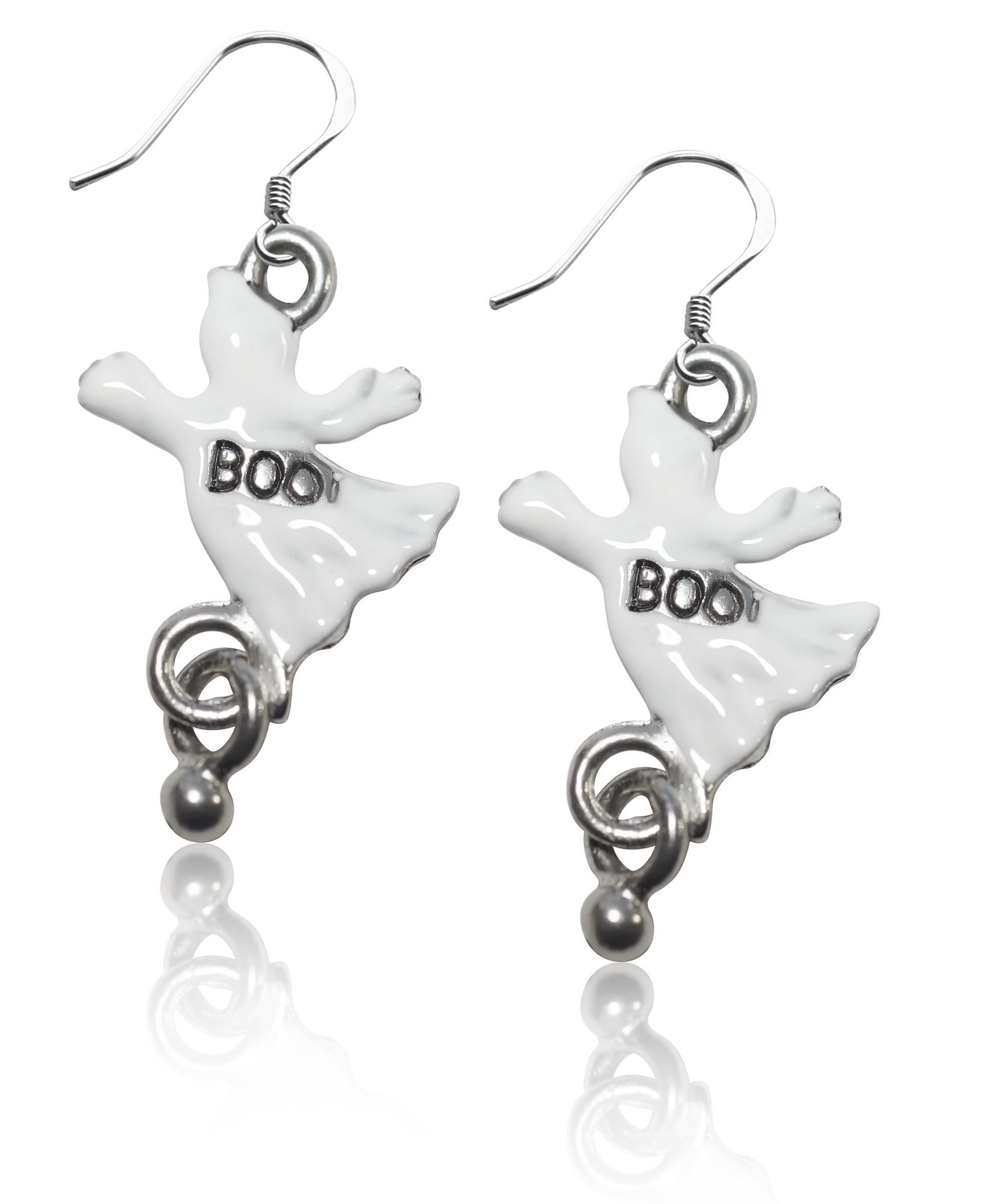 laserduck ghost earrings product