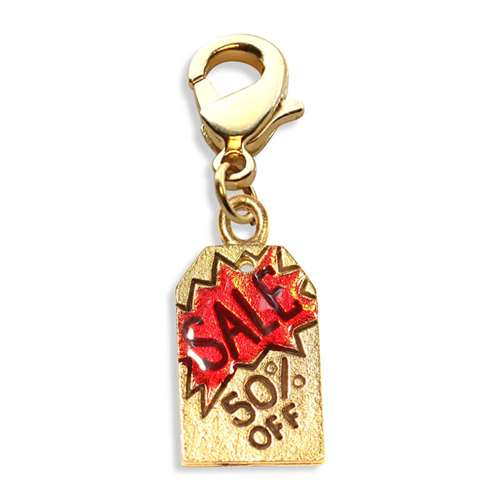 50% Off Sales Tag Charm Dangle
