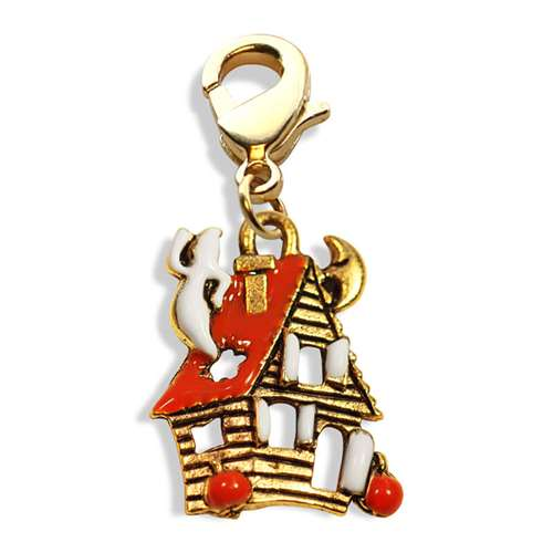 Haunted House Charm Dangle