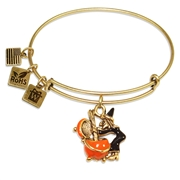 Witch Charm Bangle in Gold