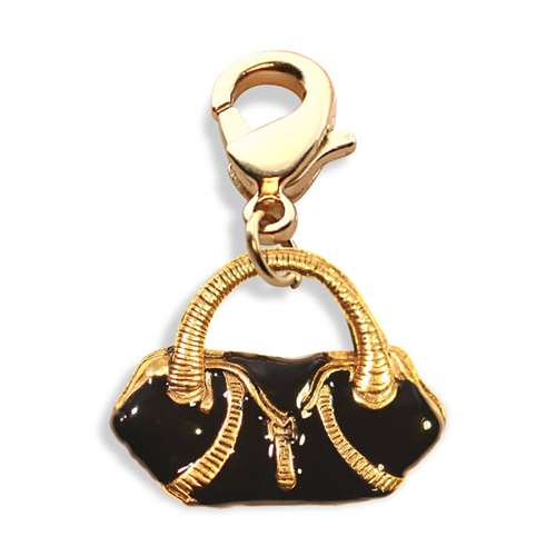 Flap Purse Charm Dangle