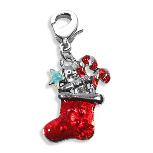 Christmas Stocking Charm Dangle