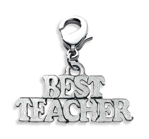 Best Teacher Charm Dangle