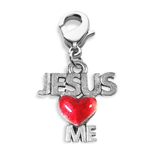 Jesus Loves Me Charm Dangle