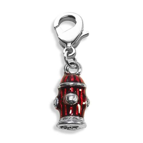 Fire Hydrant Charm Dangle