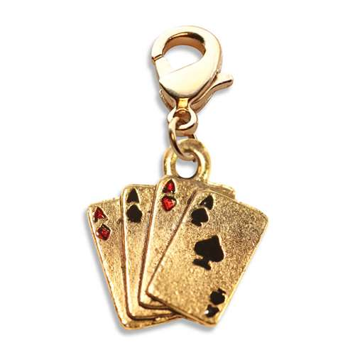 Aces Charm Dangle