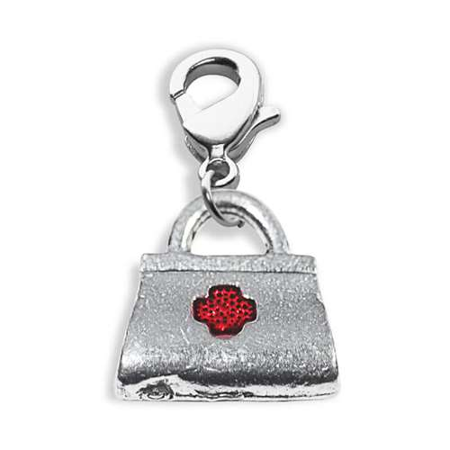 Whimsical Gifts Medical Bag Charm Dangle in Silver