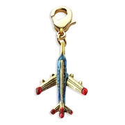 Airplane Charm Dangle