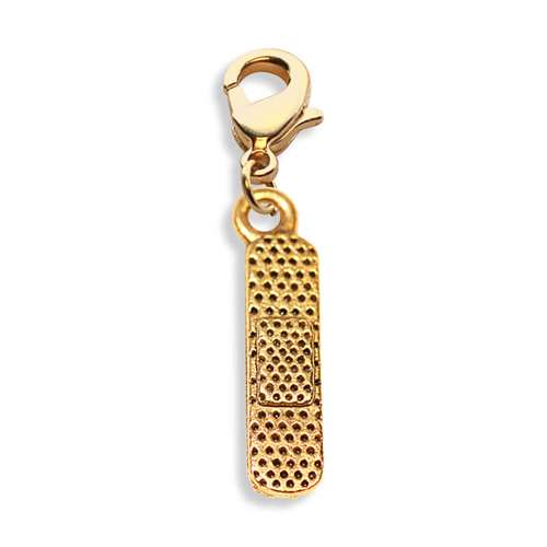 Whimsical Gifts Bandage Charm Dangle in Gold