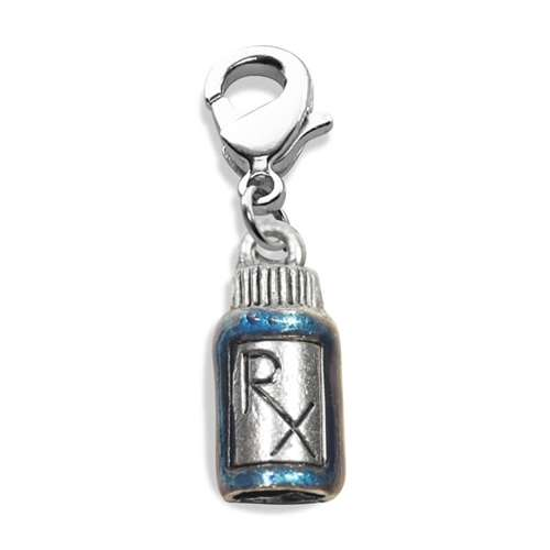 Whimsical Gifts RX Charm Dangle in Silver
