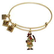 Artist Charm Bangle in Gold