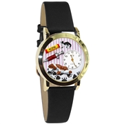 Veterinarian Watch Small Gold Style