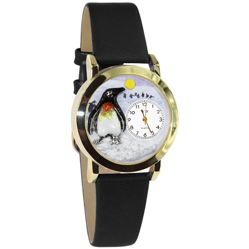 Penguin Watch Small Gold Style