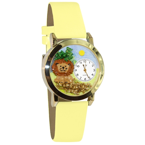 Lion Watch Small Gold Style