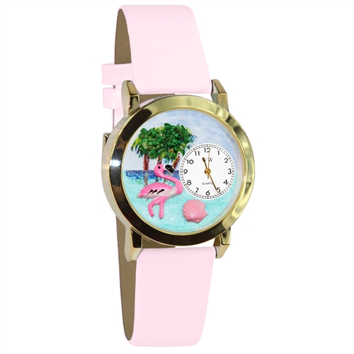 Flamingo Watch Small Gold Style