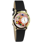 Artist Watch Small Gold Style