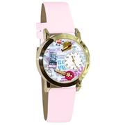 Teen Girl Watch Small Gold Style