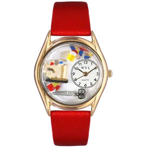 Quilting Watch Small Gold Style