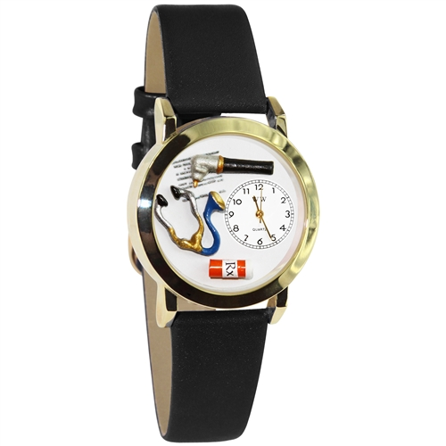 Doctor Watch Small Gold Style