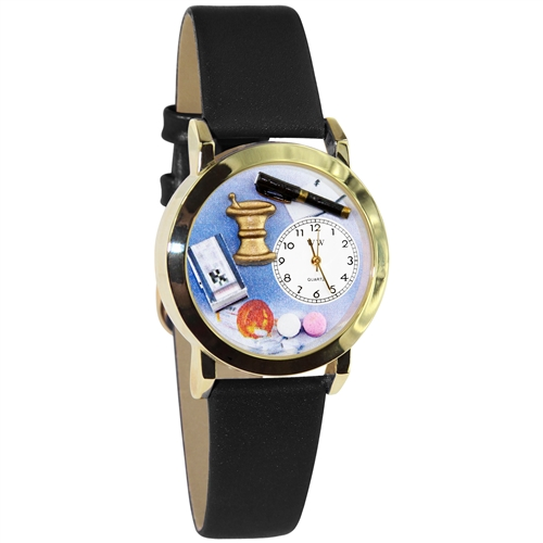 Pharmacist Watch Small Gold Style