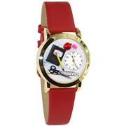 Teacher Watch Small Gold Style