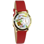 Preschool Teacher Watch Small Gold Style