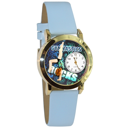 Gymnastics Watch Small Gold Style