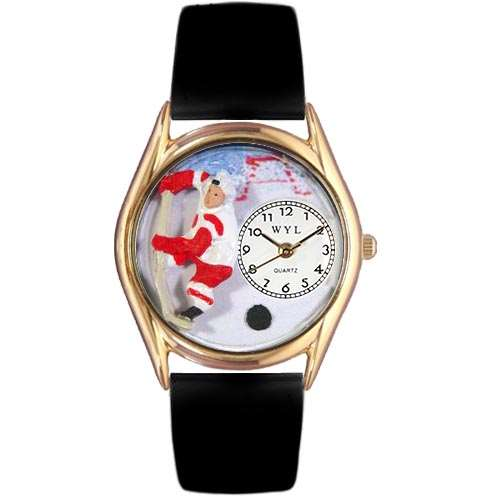 Hockey Watch Small Gold Style