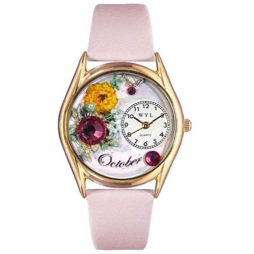 Birthstone Jewelry: October Birthstone Watch Small Gold Style