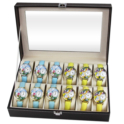 Easter Watch 12ct Prepack (6 Gold; 6 Silver)