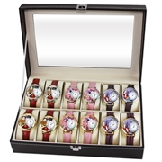 Mother's Day Watch 12ct Prepack (6 Gold; 6 Silver)